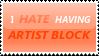 Stamp 2 - Artist Block by satakigreendragon