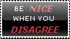 Stamp 4 - Be nice by satakigreendragon