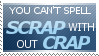 Stamp 29 - Scrap by satakigreendragon