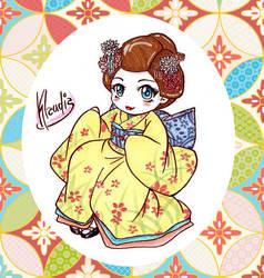 Geisha by Klaudia-Ayame