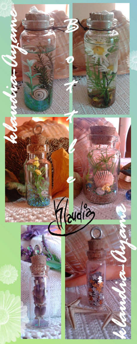 Treasures in the bottle by Klaudia-Ayame