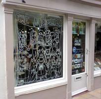Drift Record Shop Window 4 by leeoconnor