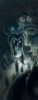 Exalted Third Edition RPG: Underground City by leeoconnor
