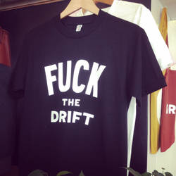 'Flip' the Drift T-Shirt Design by leeoconnor