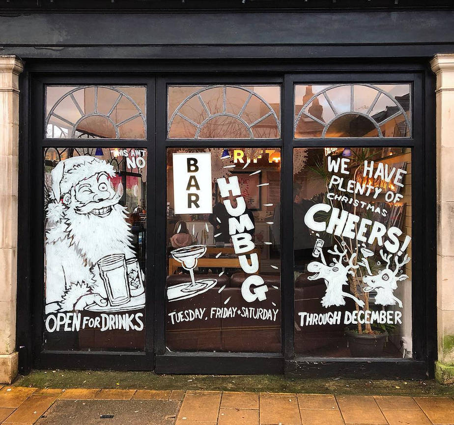 Drift Xmas Window 2018 by leeoconnor