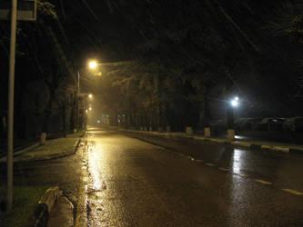 Night with rain by Jhonni