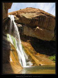 Lower Calf Creek Falls by Crooty