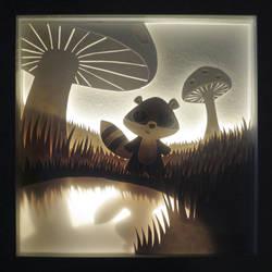Petit Raccoon by Crooty