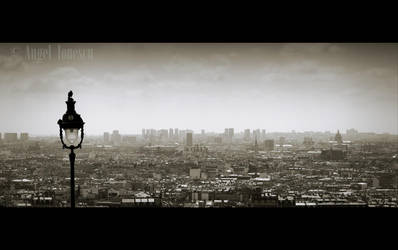 Watching over Paris by P11K