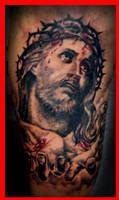 Jesus portrait by DW3D
