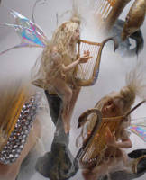 The Faerie's Harp by cdlitestudio