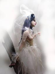 Gothic Ghost Bride by cdlitestudio