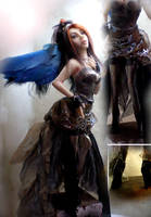 front of dress steampunk by cdlitestudio