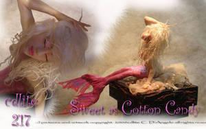 Pink Mermaid face by cdlitestudio