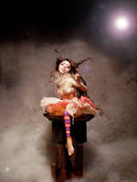 Cheshire Cat Faerie A by cdlitestudio