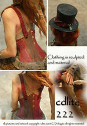Steampunk Princess details B by cdlitestudio
