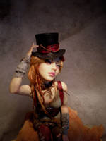 Steampunk Princess face lighti by cdlitestudio