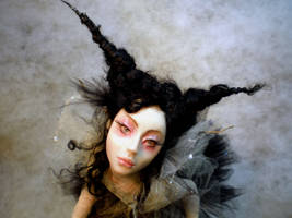 The Dark Ballerina face A by cdlitestudio