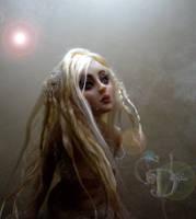 Mermaid Here I wait. . . hair by cdlitestudio