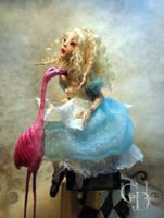 Alice in wonderland A by cdlitestudio