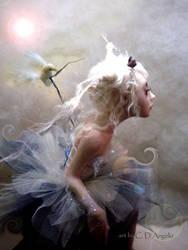 ballerina with doves B by cdlitestudio