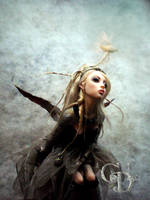 Steampunk Princess D by cdlitestudio