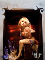 mermaid A by cdlitestudio