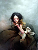 Ball jointed creepy artdoll C by cdlitestudio