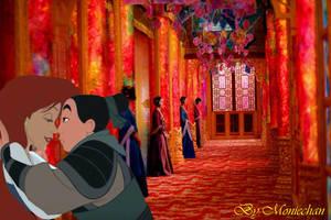 The war is over - Ariel x Mulan - Femslash by moniechan