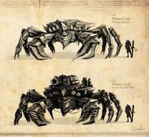 Phalanx Crab Concept by radiationboyy
