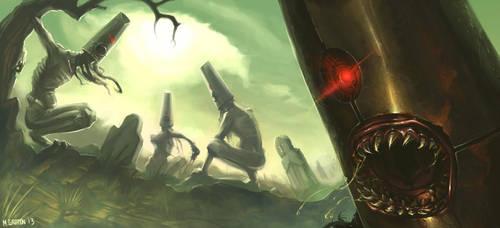 Legendary Creatures: Abaasy by radiationboyy