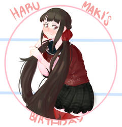 HaruMaki's Birthday! by Artswork