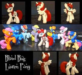 Blind Bag Lauren Pony by stripeybelly