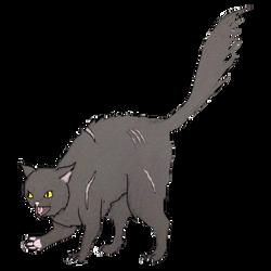 Random Dark Forest Cat by deviant-rohain