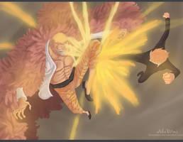 Black Leg vs. Heavenly Demon ~~ !! by Shinsekai94