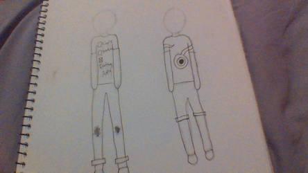my fisrt top drawing by randomtextcomics