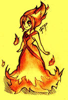 Flame Princess by CherryCreamPie
