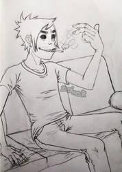 2D [SketchTober] by 2D-Dipper