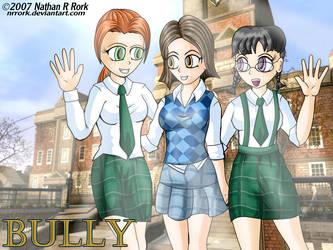 Girls of Bullworth by nrrork
