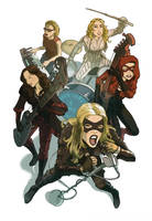 Black Canary Band by kinjamin