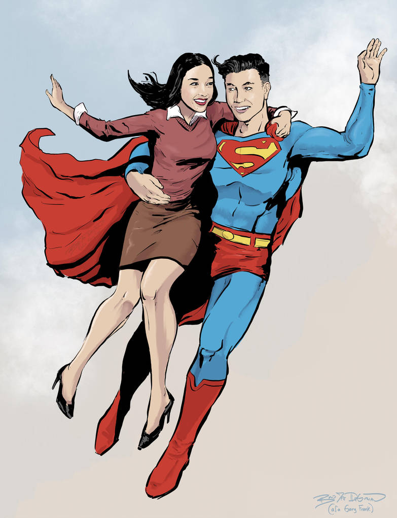 Krypton Rich Asians by kinjamin