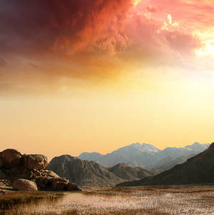 Desolate Landscape by JacqChristiaan