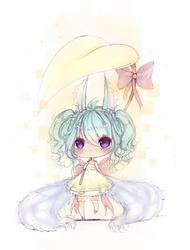 Cutie Fox by Iy-shu
