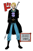 Sabo the Revolutionary by M by MarioTheArtistM