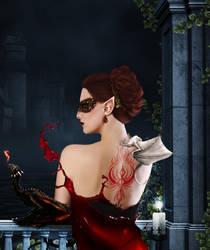 Dragon Masque by thatcraftychick