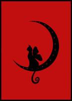 Faery Cat Moon by thatcraftychick