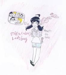 Miraculous Ladybug Marinette's love by 0Fenika