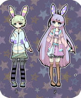 Kemonomini adoptable OPEN AUCTION by Diana-AS