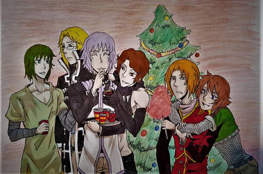 [Gift] Early Christmas party by Alfatina