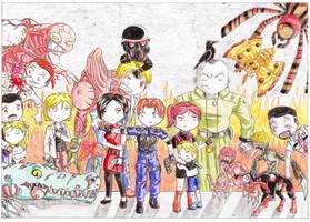 Resident Evil 2 by marikimaru